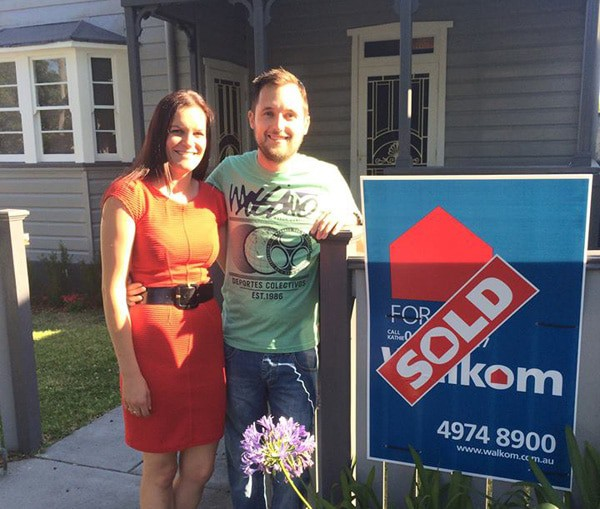 Mitch and Katherine – First Home Buyers